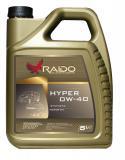 Raido Hyper 0W-40 моторное масло