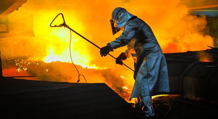 Металлургическая отрасль Украины падает