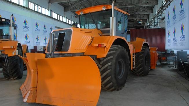 Тракторный завод запущен в северном Казахстане