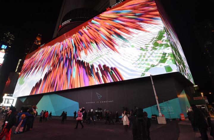 Медиаэкраны приходят на смену обычным рекламным щитам