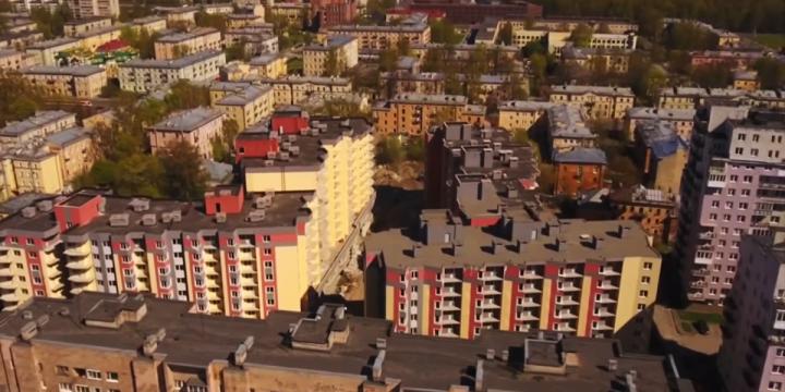 Город контролирует строительство проблемного ЖК «Охта-Модерн»