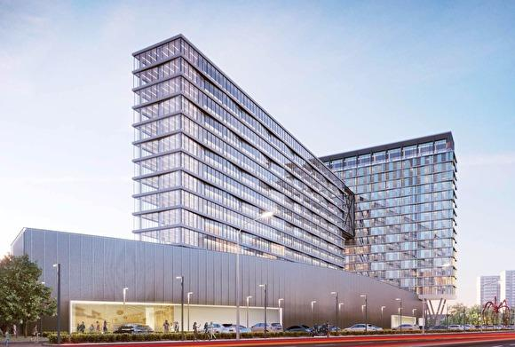 В Челябинске построят небоскреб с бизнес-центром и пентхаусом
