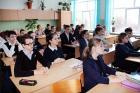Химики беседуют со школьниками о многообразии профессий в ПАО «Химпром»