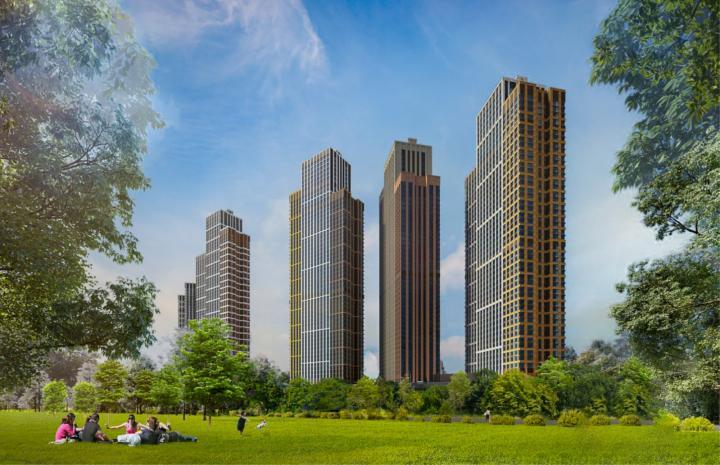 «Метриум»: В ЖК Will Towers залили бетон в фундамент небоскреба