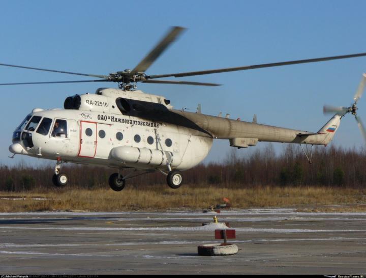 Нижневартовское авиапредприятие получит два новых вертолета Ми-8АМТ