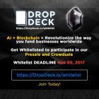 DropDeck.io меняет традиционную практику финансирования компаний