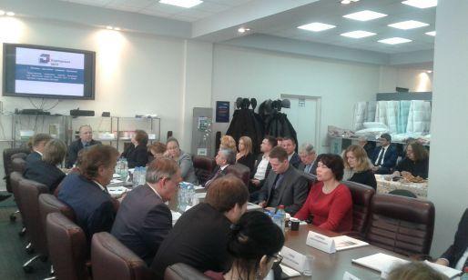Торгово-промышленная палата России  и Союзлегпром будут сотрудничать в вопросах цифровизации легпрома