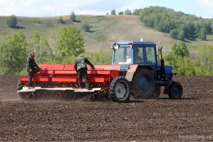 В Башкирии весенний сев проведен на 60% запланированных площадей