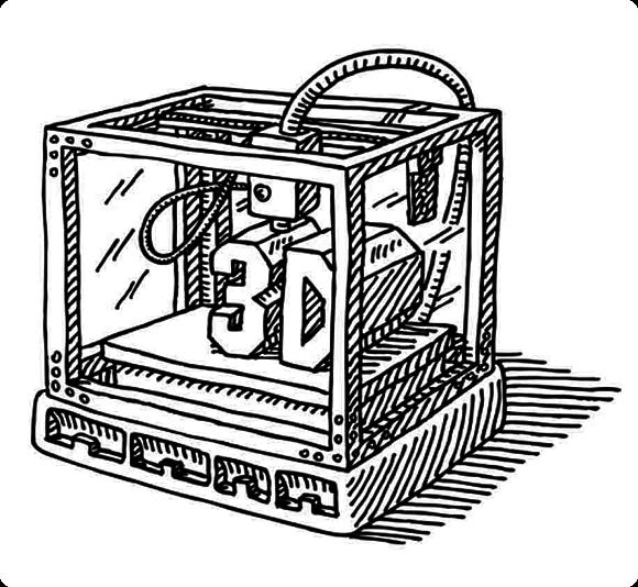 Продажи промышленных 3D-принтеров растут, настольных — снижаются