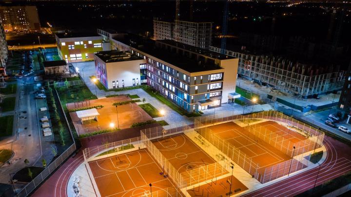 В Новых Ватутинках открылась школа с метеостанцией и инженерными классами