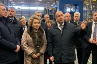 Валентина Матвиенко побывала на Брянском машиностроительном заводе