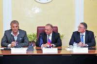 Cергей КАТЫРИН провел встречу с президентом СОЮЗЛЕГПРОМа