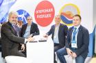 Руководство компании Polytrade Global GmbH посетило стенд Научно-производственного предприятия «ПОЛИПЛАСТИК»