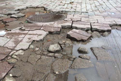 Финансирование ремонта и строительства воронежских тротуаров вырастет в два раза