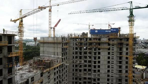 Ввод жилья в России за девять месяцев вырос почти на 8%