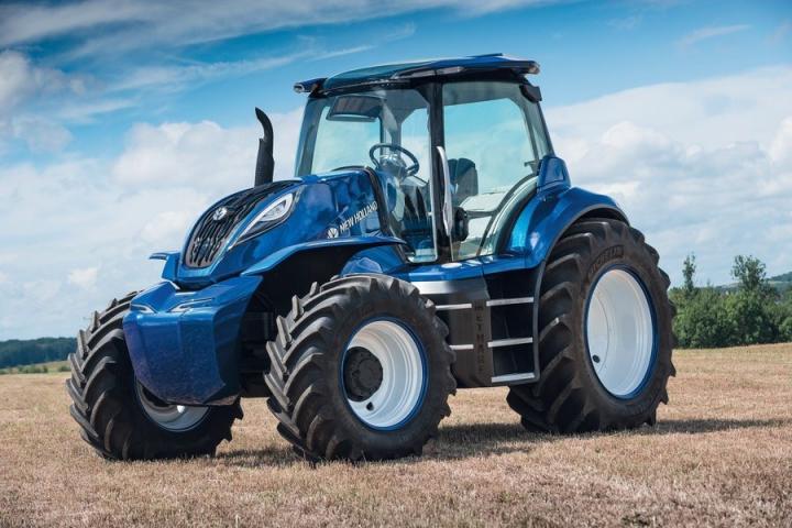 Трактор, работающий на метане, – концепт New Holland Agriculture