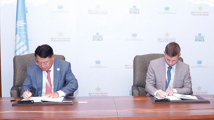Соглашение с ЮНИДО поможет разработке экологических технологий в металлургии