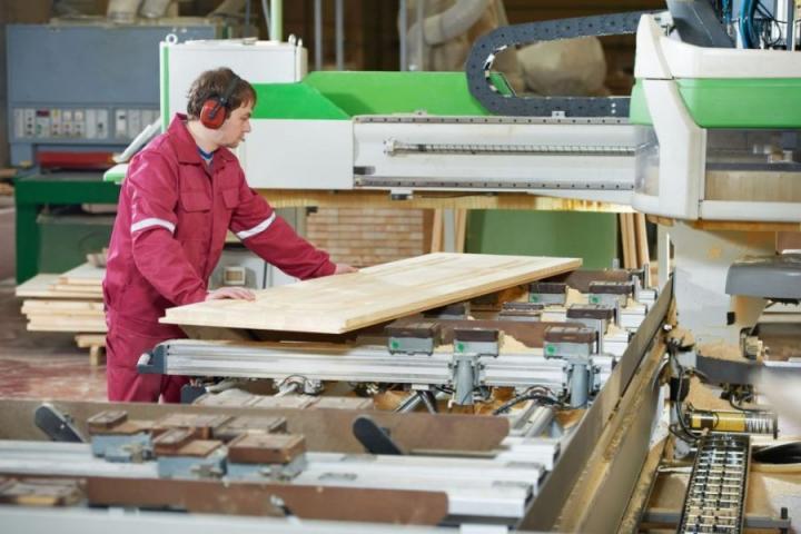 В Сосновском районе запустили новый цех по переработке древесины