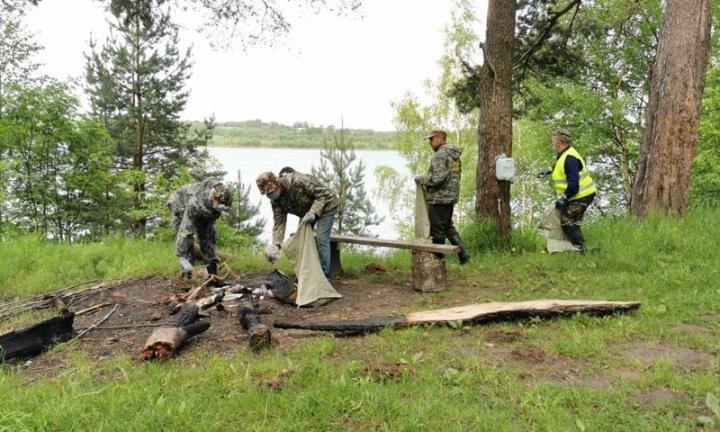 Специалисты лесной отрасли в День охраны окружающей среды провели субботники