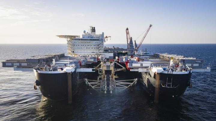 Строительство «Северного потока – 2» завершат до конца 2019 года