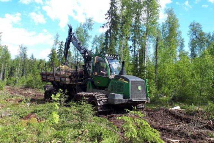В Пермском крае прошли испытания шин Alliance для лесозаготовительной техники