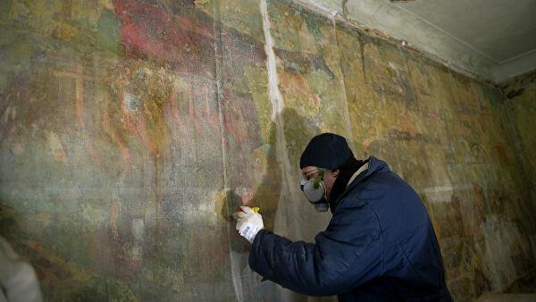 Реставраторы нашли в центре Москвы элементы древнерусской архитектуры