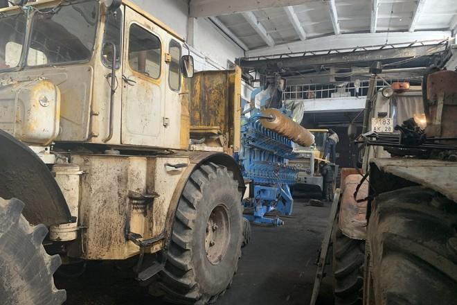 Амурская область готовит сельхозтехнику к полевым работам