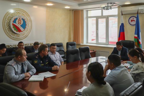 Представители УФСИН и Министерства сельского хозяйства провели рабочую встречу