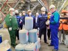 ПАО «Химпром» посетил врио Главы Чувашии Олег Николаев