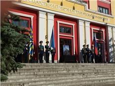 В Уфе открылась мемориальная доска в честь летчика- космонавта Комарова