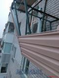 Отделка балконов пластиковыми панелями