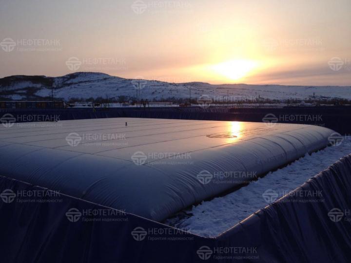 Резервуары для дизельного топлива.