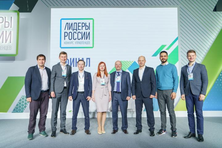 Генеральный директор «А ГРУПП Стальные конструкции» на конкурсе «Лидеры России»