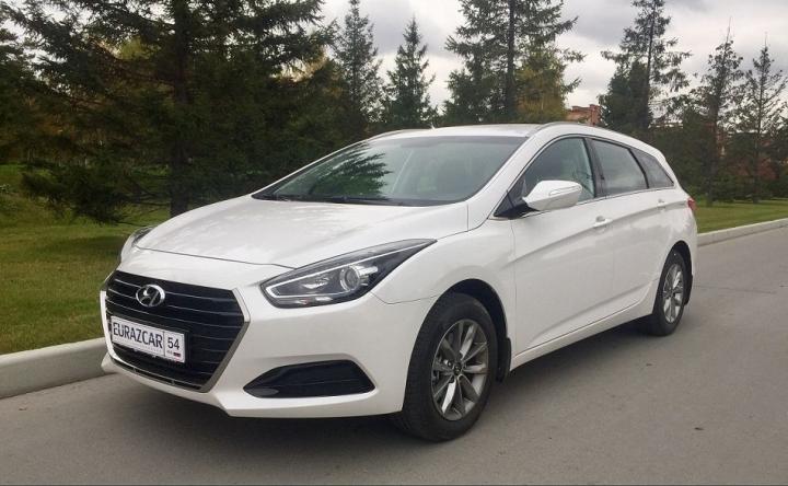 Автопарк компании «Евразкар» пополнился новым авто –  Hyundai i40