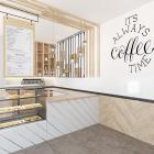 Новая кофейня Caramel открылась в бизнес-центре 7ONE